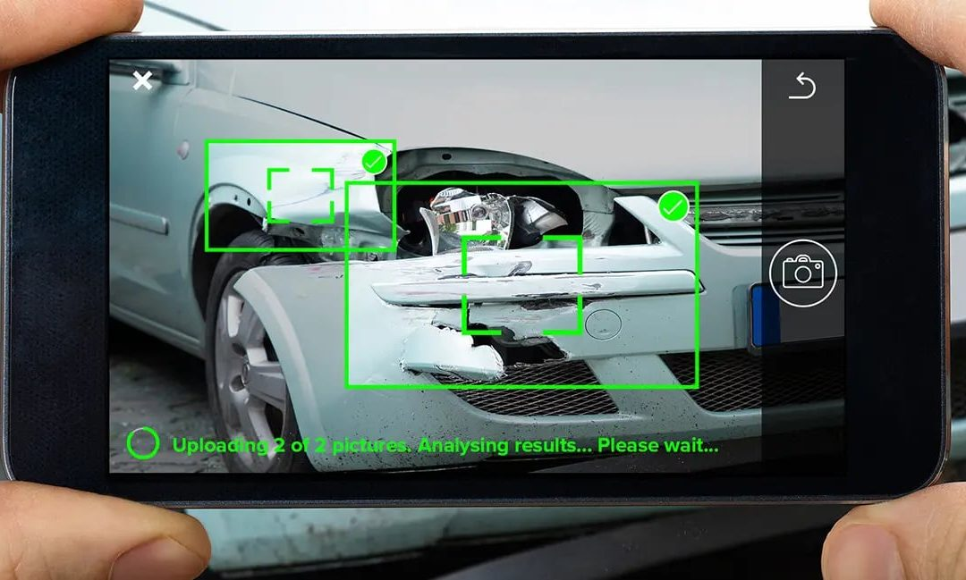 Siniestros de coches: reconocimiento y evaluación de daños en 20 segundos