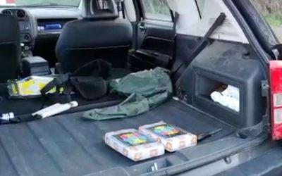 La Guardia Civil desarticula una organización que transportaba cocaína en dobles fondos de vehículos
